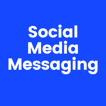 Image with text Social Media Messaging