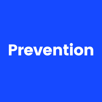 image with text Prevention